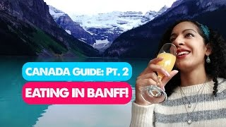 Download BEST RESTAURANTS IN BANFF! | Canada Travel Guide 02 Video