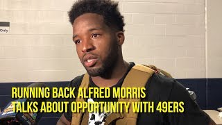 Download Running back Alfred Morris talks about opportunity with 49ers Video