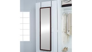 Download Mirrotek Jumbo OvertheDoor Jewelry Armoire Video