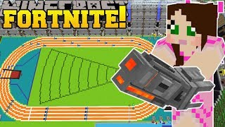 Download Minecraft: OLYMPICS STADIUM - FORTNITE BATTLE ROYALE - Modded Mini-Game Video