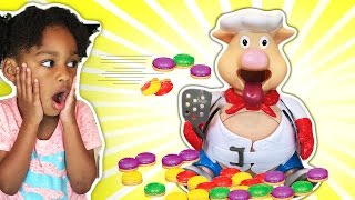 Download Pop The Pig Family Fun Game for Kids with Surprise Toys and Shimmer and Shine Video