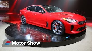 Download 2017 Kia Stinger GT – First Look at the Detroit Motor Show Video