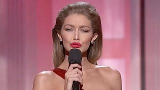 Download Gigi Hadid's Melania Trump Impression: Cringe Worthy Moments From 2016 AMAs Video