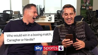 Download Jamie Carragher and Gary Neville answer YOUR questions! Video
