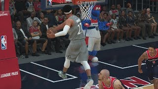 Download NBA 2K18 My Career - New Dunks! Tied Lakers Record! PS4 Pro 4K Gameplay Video