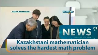 Download Kazakhstani mathematician solves the hardest math problem Video
