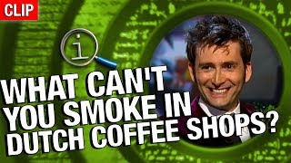 Download QI | What Can't You Smoke In Dutch Coffee Shops? Video