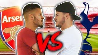 Download ARSENAL VS SPURS BATTLE! ft. ArsenalFanTV! Video