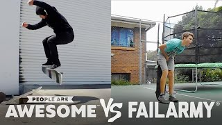 Download FailArmy Presents: People Are Awesome: Fails VS. Wins #1 Video