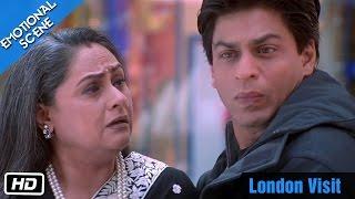 Download London Visit - Emotional Scene - Kabhi Khushi Kabhie Gham - Shahrukh Khan, Amitabh Bachchan Video