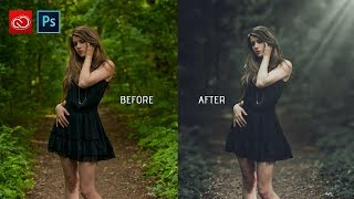 Download Photoshop cc tutorial: How to edit outdoor photo   How to retouch outdoor photo Video