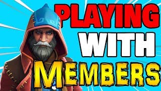 Download 🔴 PRO XBOX PLAYER (Playing W/Members) Fortnite Live Stream Xbox one Video