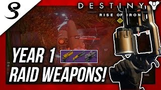 Download Destiny - YEAR 1 RAID WEAPONS IN CRUCIBLE! Video