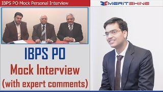 Download Bank Interview Preparation - IBPS Interview Mock 4 Video