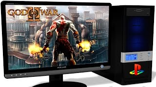 Download RPCS3 Playstation 3 Emulator - God of War Collection, GoW 2 HD on PC, Gameplay, Vulkan api with LLE Video