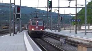 Download ► SBB Re 6/6 ″11641″ & ″11645″ Güterzug mit 40 wagen [15.06.11] Video