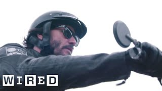 Download Inside Keanu Reeves' Custom Motorcycle Shop | WIRED Video