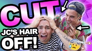 Download CUTTING JC'S HAIR OFF!! (GONE WRONG) Video