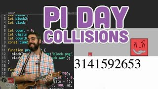 Download Coding Challenge #139: Calculating Digits of Pi with Collisions Video
