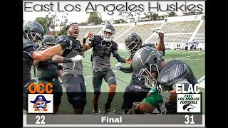 Download East Los Angeles Football - Sept 02, 2017 (Occ - 22 - Elac - 31) Final Video
