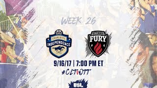 Download USL LIVE - Charlotte Independence vs Ottawa Fury FC 9/16/17 Video