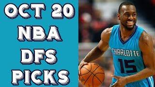 Download 10/20/17 NBA DraftKings Picks Video