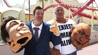 Download The Rock & Jimmy Fallon at Universal Studios Orlando!! (4.5.17) Video