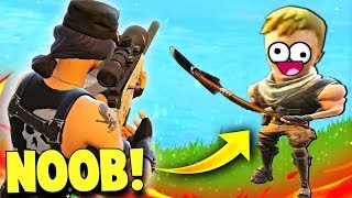 Download THE WORLDS BIGGEST NOOB ON FORTNITE...(Fortnite Battle Royale Funny Moments) Video