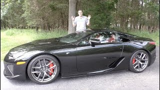 Download The Lexus LFA Is the $400,000 Supercar Nobody Talks About Video
