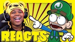 Download BEST EVER   Jacksepticeye Animated   Super Mario Maker   James Farr Reaction   AyChristene Reacts Video