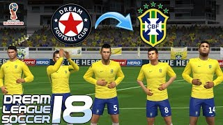 Download Create Brazil Team ★ Kit Logo & Players ★ Dream League Soccer 2018 Video