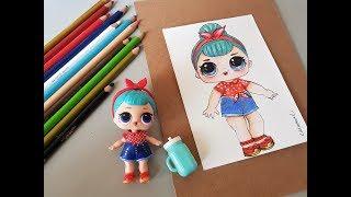 Download Desenhando boneca LOL com lápis de cor Norma Video