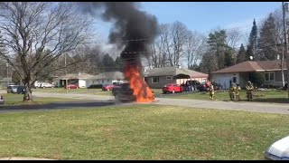 Download Dodge Pickup Fire in Marcy Video
