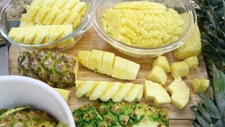 Download How to Cut a Pineapple (4 Ways) - Episode 158 Video
