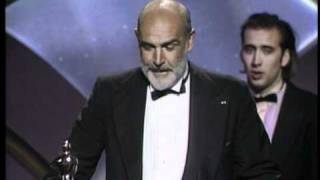 Download Sean Connery Wins Supporting Actor: 1988 Oscars Video