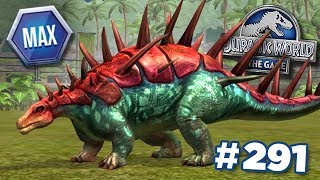 Download MAXED KENTROSAURUS!!! || Jurassic World - The Game - Ep291 HD Video