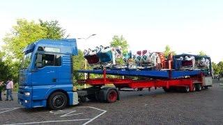 Download Kermis Hoorn 2014 Transport en opbouw Deel 1 Video