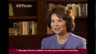 Download Elaine Chao talks to CCTV's Wang Guan Video