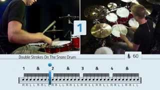 Download Double Stroke Rolls On The Toms - Free Drum Lessons Video