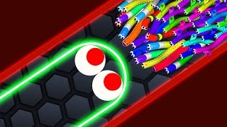 Download Slither.io - LUCKY GIANT SNAKE vs 14500 SNAKES! // Epic Slitherio Gameplay (Slitherio Funny Moments) Video