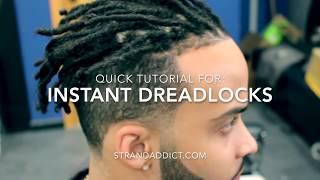 Download Instant Dreadlocks Killmonger Hair Tutorial Video