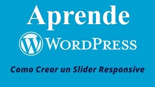 Download Slider Responsive para Wordpress - Plugin Wonderplugin slider Video