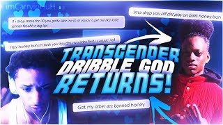 Download TRANSGENDER DRIBBLE GOD RETURNS AND MAKES WAGER!IF HE BEATS ME ILL MAKE HIM LOOK LIKE KYLIE JENNER! Video