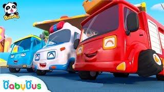 Download Super Car Racing Team | Baby Panda's Dream | Car Story for Kid | Fire Truck, Monster Truck | BabyBus Video
