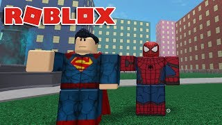 Download SPIDER-MAN VS SUPERMAN! Roblox Dawn of Heroes Video