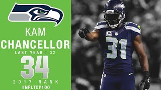 Download #34: Kam Chancellor (S, Seahawks) | Top 100 Players of 2017 | NFL Video