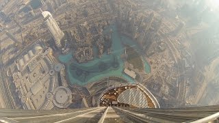 Download Amazing view from the Burj Khalifa - At the top SKY Video