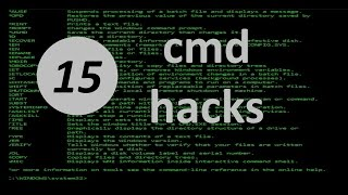 Download 15 cmd hacks for Windows 10 you should know Video