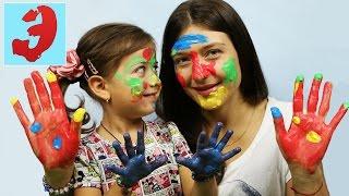 Download ПАЛЬЧИКОВЫЕ КРАСКИ ЧЕЛЛЕНДЖ: Играем в игру Рисуем краской на лице. Challenge Video