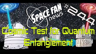 Download Cosmic Bell Test of Entanglement Using Distant Quasars Video